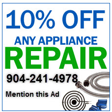 10% OFF any appliance repair.